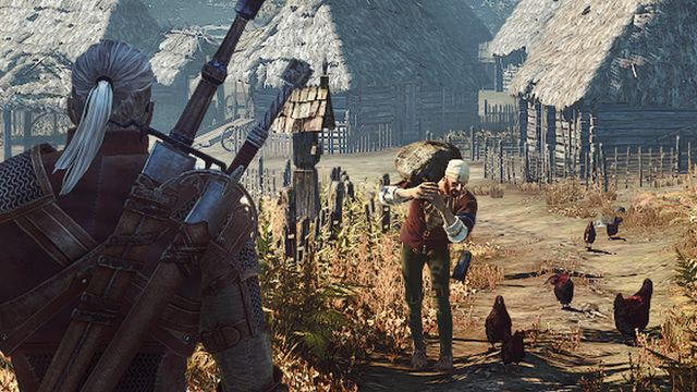 "Scene from ""The Witcher"" computer game"