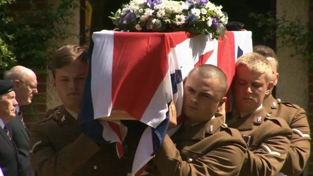 Funeral of Wally Harris