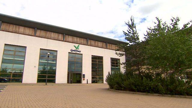 Center Parcs headquarters in Ollerton