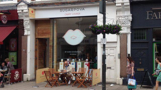 Sugarpova shop in Wimbledon