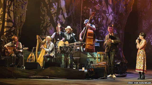 Land of Song band at Womex 2013