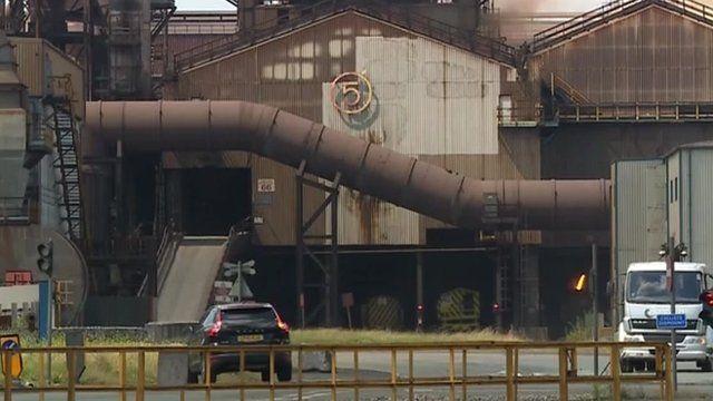 Tata plant in Port Talbot