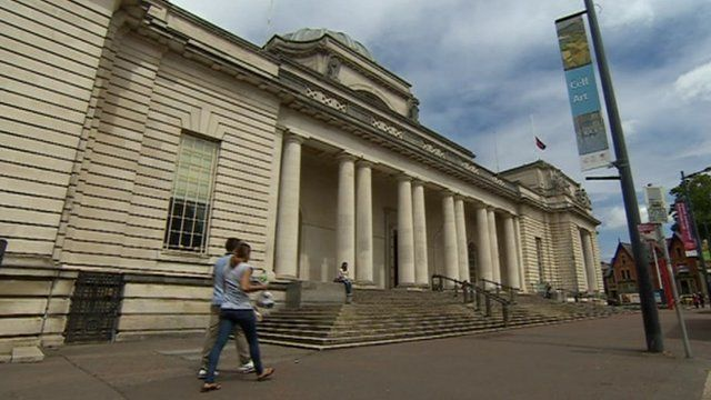 National Museum Wales in Cardiff