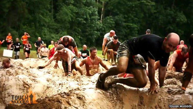 Tough Mudder participants