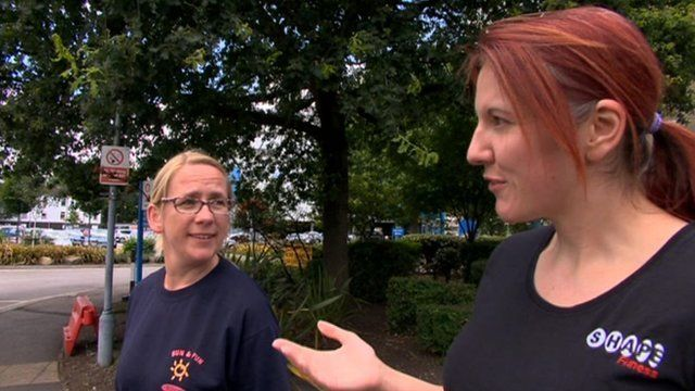 Women give views on parking charges