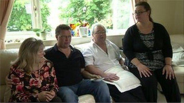 The family of Adam Hird