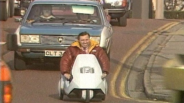 Sinclair C5 Electric Car Ahead Of Its Time Bbc News