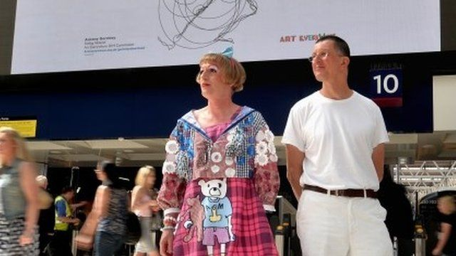 Grayson Perry and Antony Gormley