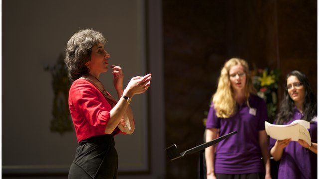 Blind conductors at the Wigmore Hall