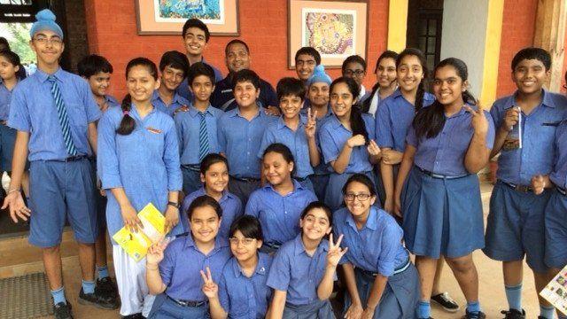 Pupils in India