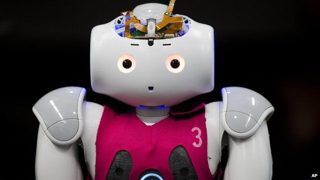 A robot which is due to compete in the 2014 RoboCup