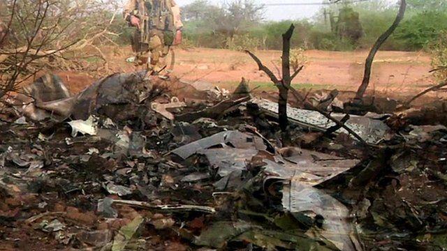 Air Algerie wreckage site