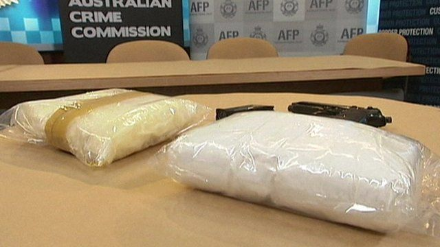 Drugs worth £11m were sent from the UK to Australia by international courier