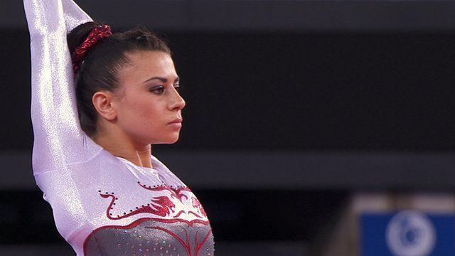 England's gymnast Claudia Fragapane