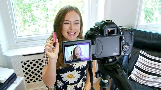 Tanya Burr's make up tips lead the way in video blog revolution ...
