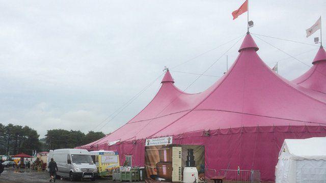 National Eisteddfod pavilion