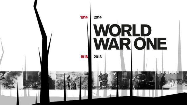 World War One graphic
