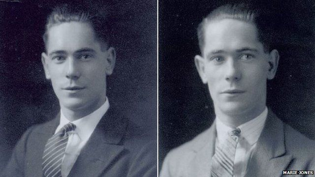 Jack Gentle and his brother Rex