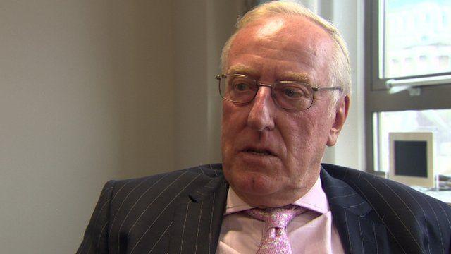 Chairman Donald Hoodless