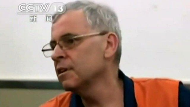 Peter Humphreys on state TV in China