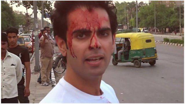 Indian actor and prankster Varun Pruthi