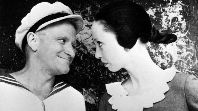 Robin Williams in Popeye