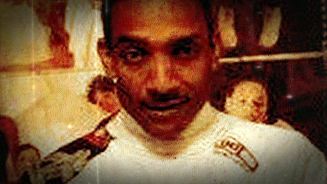 Kester David's badly burned body was found under a railway archway in 2010