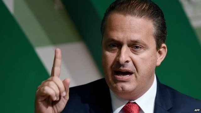 File photo of Eduardo Campos from 6 August, 2014