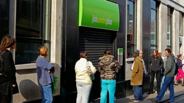 Jobseekers were interviewed by a bogus employer at Birkenhead Job Centre