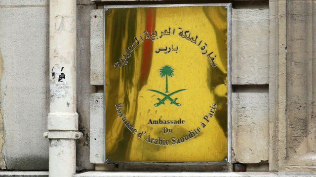 Saudi Arabia Embassy in Paris