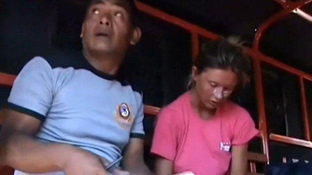 Foreign survivors receive medical treatment