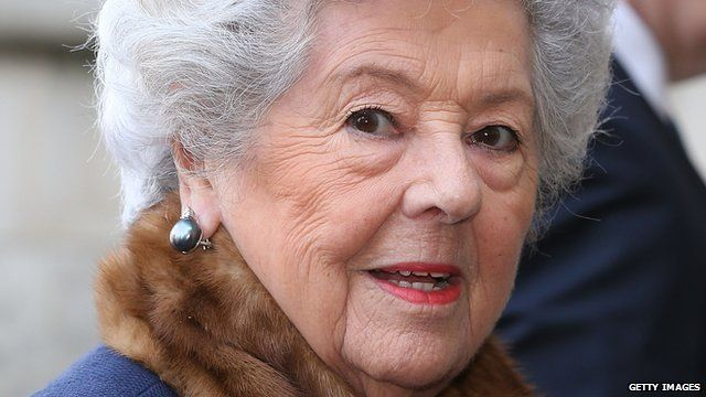 A former Speaker of the Commons Baroness Boothroyd