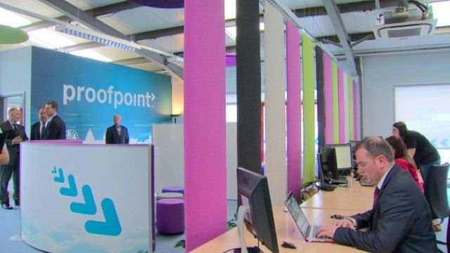 Invest NI has offered more than £600,000 of support for the new jobs at Proofpoint