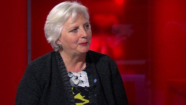 Juliet Lyon, director of the Prison Reform Trust.