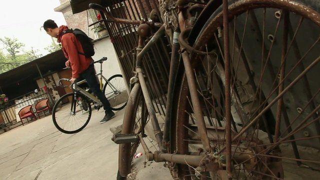 New bike and old bike