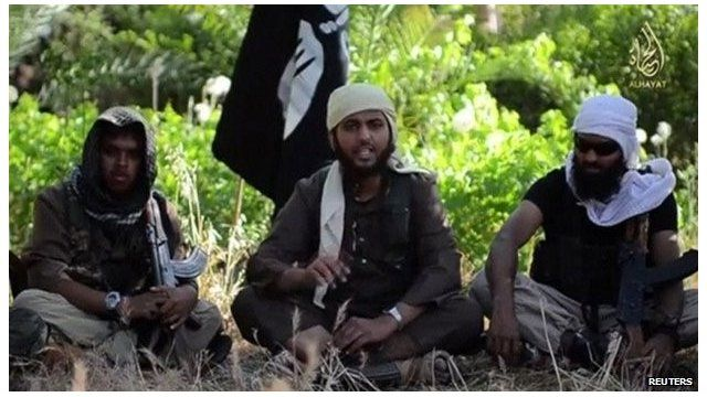 Reyaad Khan and Nasser Muthana, both from Cardiff, and Abdul Rakib Amin, appear in ISIS video