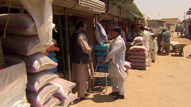 Afghan market
