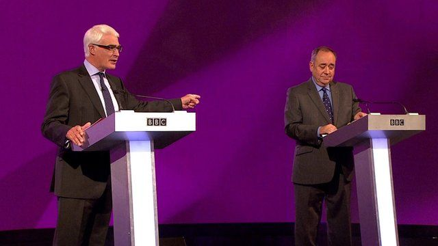 Alistair Darling and Alex Salmond