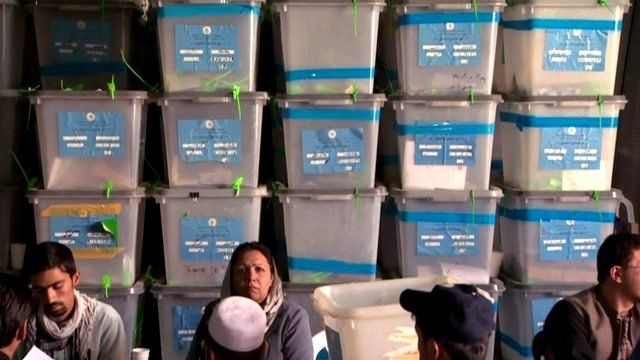 Audit of Afghan votes