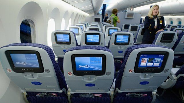 The limited room between seats on airlines
