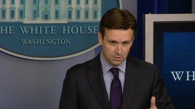 White House spokesman Josh Earnest
