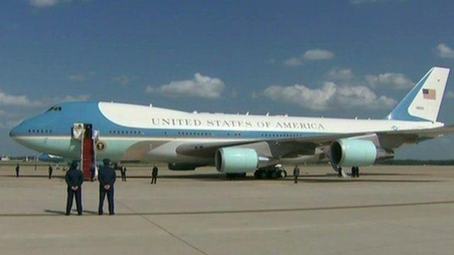 US President's plane