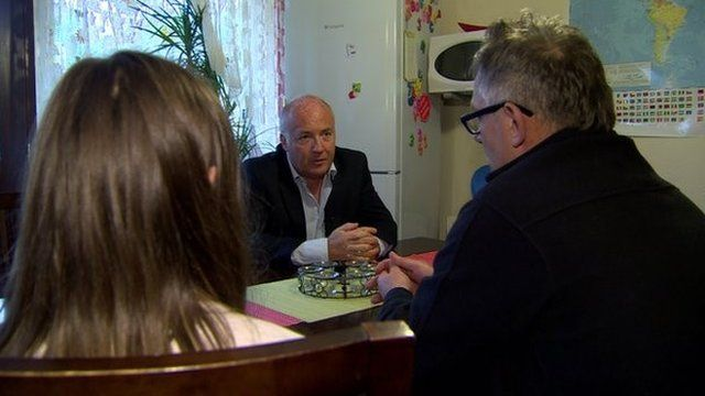 The family spoke to BBC News NI reporter Mervyn Jess