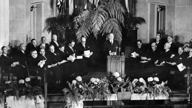 Nato treaty in 1949