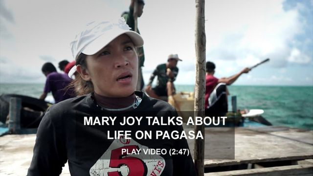 Mary Joy - administrator on the island of Pagasa