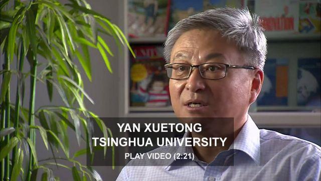 Professor Yan Xuetong, Tsinghua University