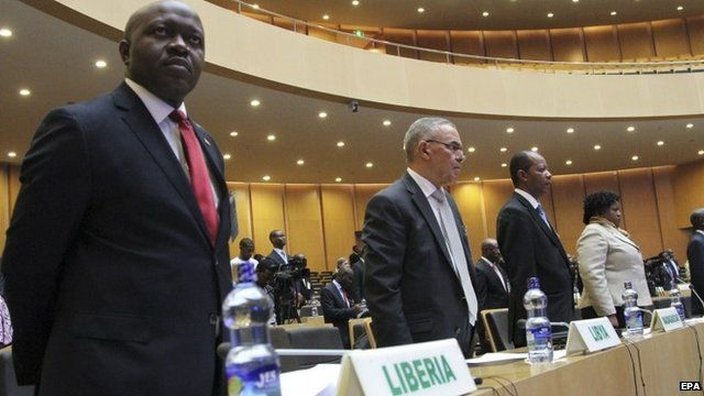 Members of the African Union