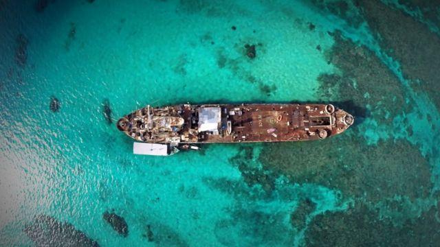Philippine ship Sierra Madre