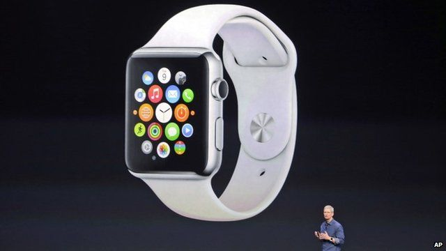 Apple Watch and CEO Tim Cook