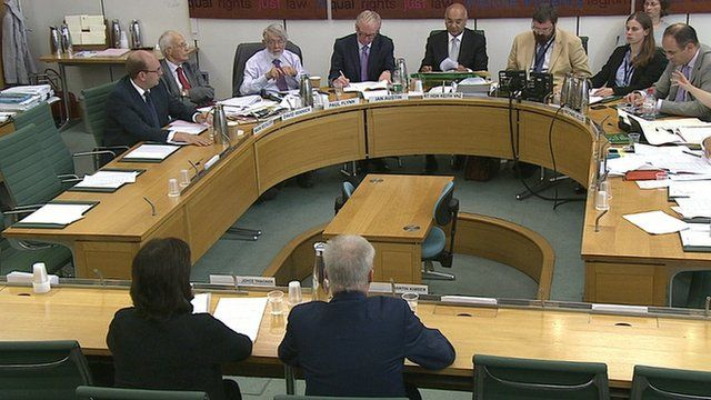 Sitting Home Affairs select committee